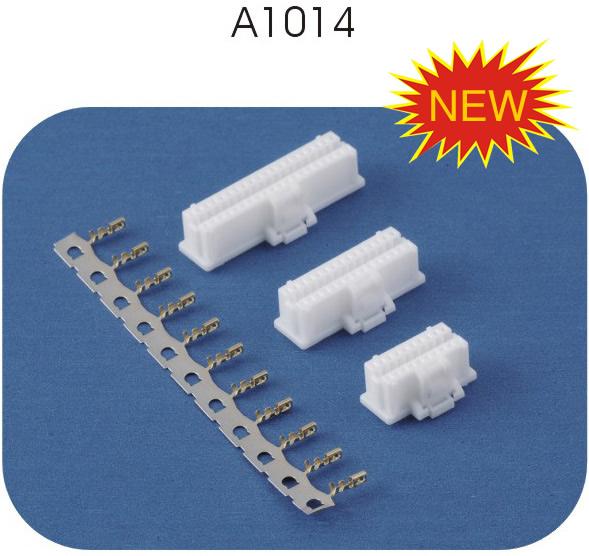 JST 1.0双排带扣连接器