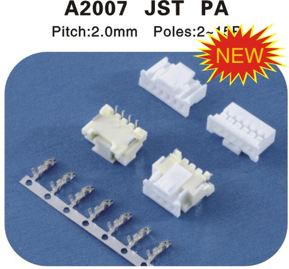 JST PA连接器 A2007