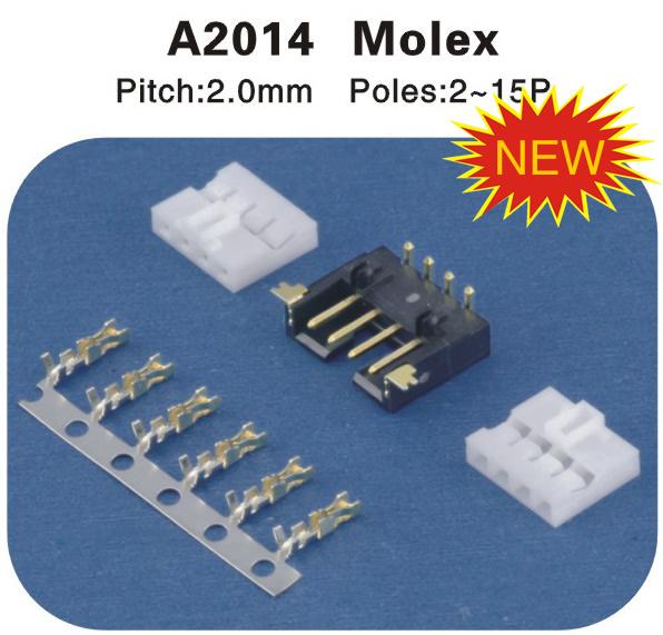 Molex连接器 A2014