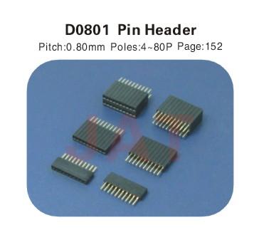 D0801 PIN HEADER连接