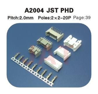 JST PDH A2004 2.0MM
