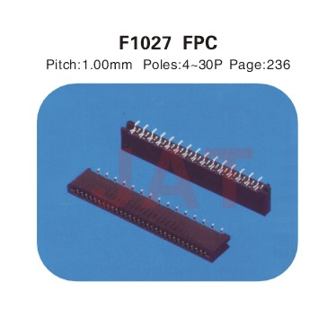 F1027 1.0系类连接器