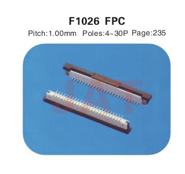F1026 1.0系类连接器