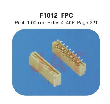 F1012 1.0系类连接器