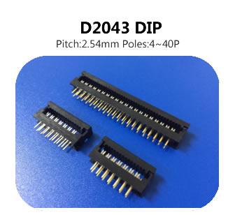 D2043 DIP 2.54