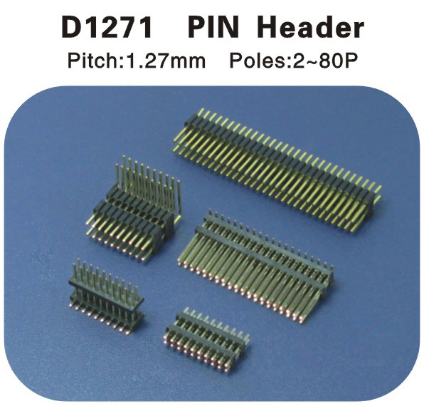 PIN Header 1.27排针 D1