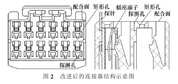 改进后的连接器结构示意图