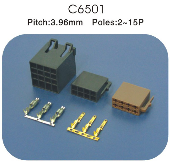 3.96mm汽车连接器 C65