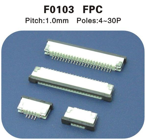 FPC1.0连接器4-30p F0