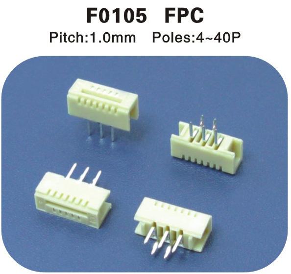 FPC1.0mm连接器 F010