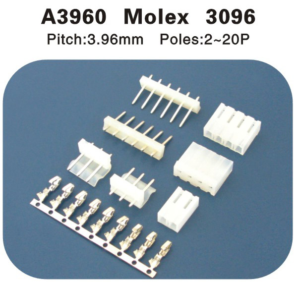 MOLEX3960 3.96连接器 A3960