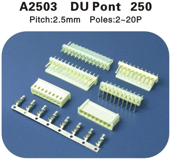 杜邦250连接器 A2503
